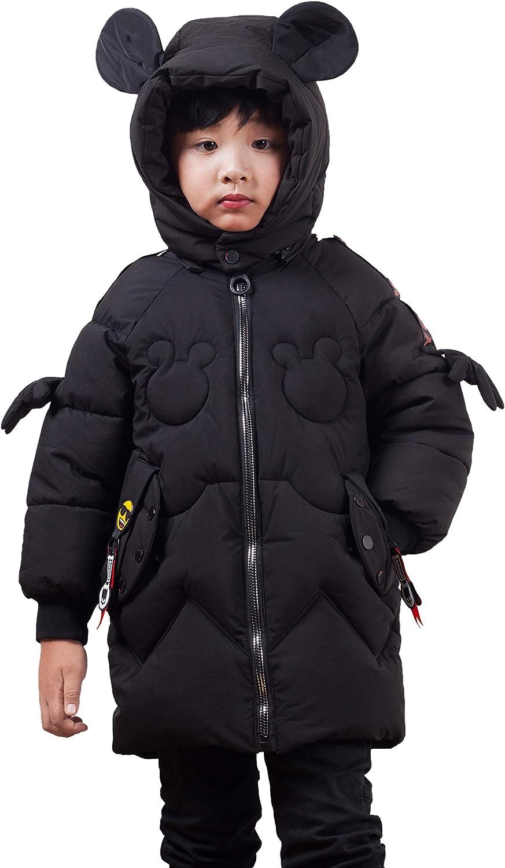 Flairstar Bambini Ragazze Ragazzi Inverno Cappotto con Cappuccio Imbottitura Leggero Gilet Giacche