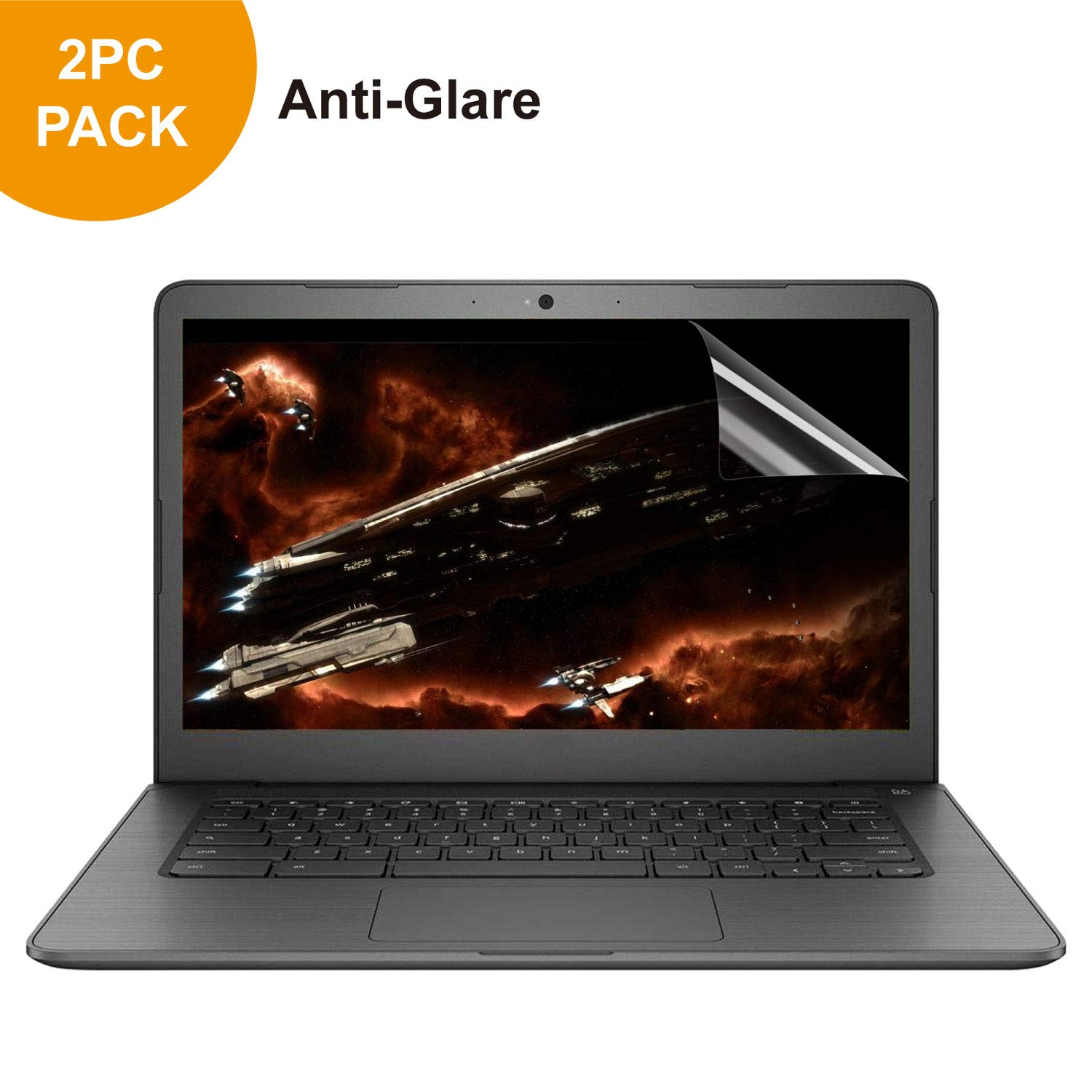 [2 Pack] 14'' Anti Glare Anti Scratch Laptop Screen Protector Compatible for 14 inch Notebook Computer Screen Display 16:9 by Gold-Pai
