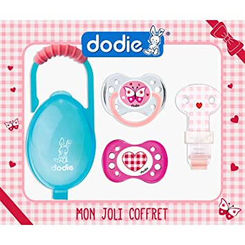 dodie-coffret of 2 Anatomical Dummies + Cake Pop Dummy Soother Day + ...
