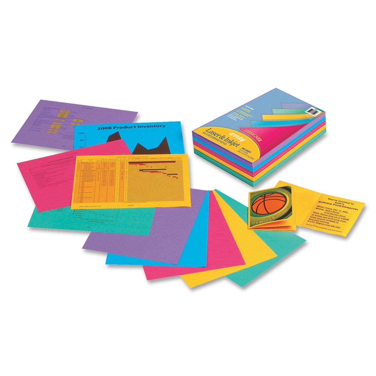 Color printing paper - Array Bond Paper 8 5 X 11 Inches Designer Colors 500 Sheets