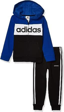 adidas boys Zip Front Hoodie & Sweatpants Clothing Set