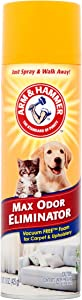 Arm & Hammer Max Odor Eliminator Vacuum Free Foam for Carpet and Upholstery, 15 oz by Arm & Hammer