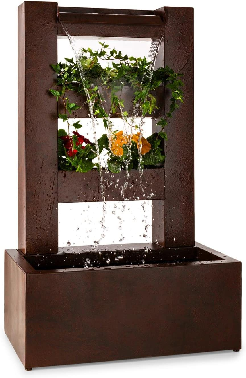 Blumfeldt Fuente Cascada (3 Niveles, macetero para Plantas ...