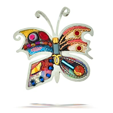 Delightful Seeka Bright Butterfly Nature Pin From The Artazia Collection P0414
