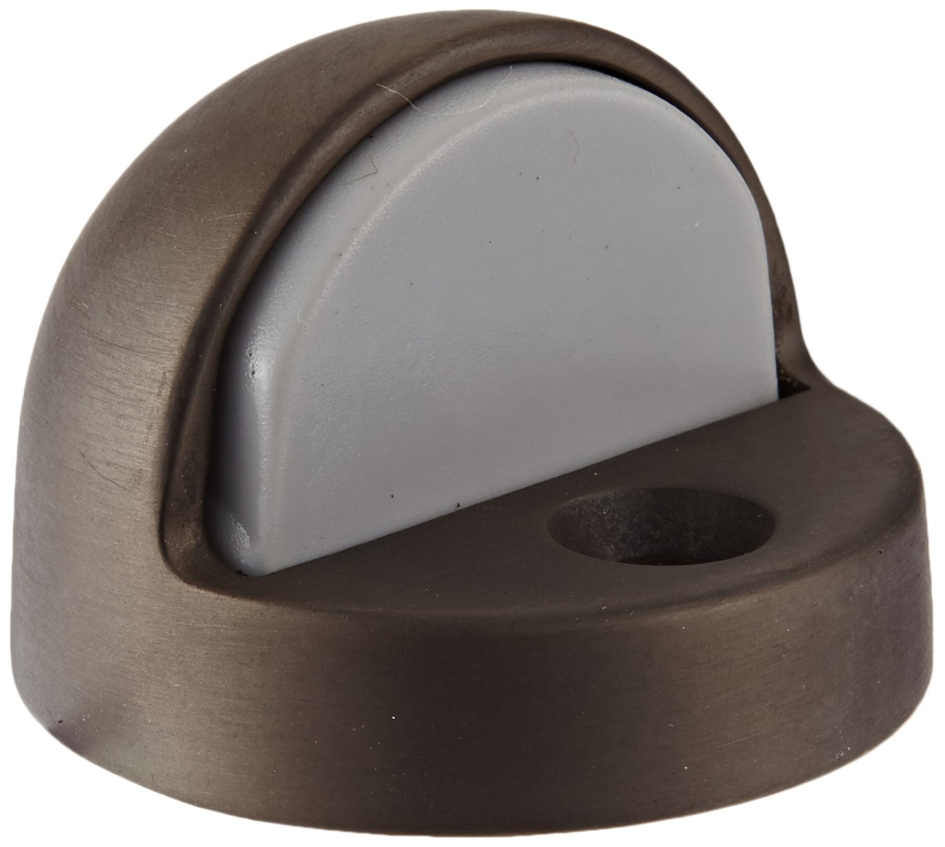 Satin Oxidized Oil Rubbed Finish 12 X 1-1//2 FH WS Fastener with Plastic Anchor 1-7//8 Base Diameter x 1//2 Base Length Rockwood 442.10B Bronze Floor Mount High Dome Stop