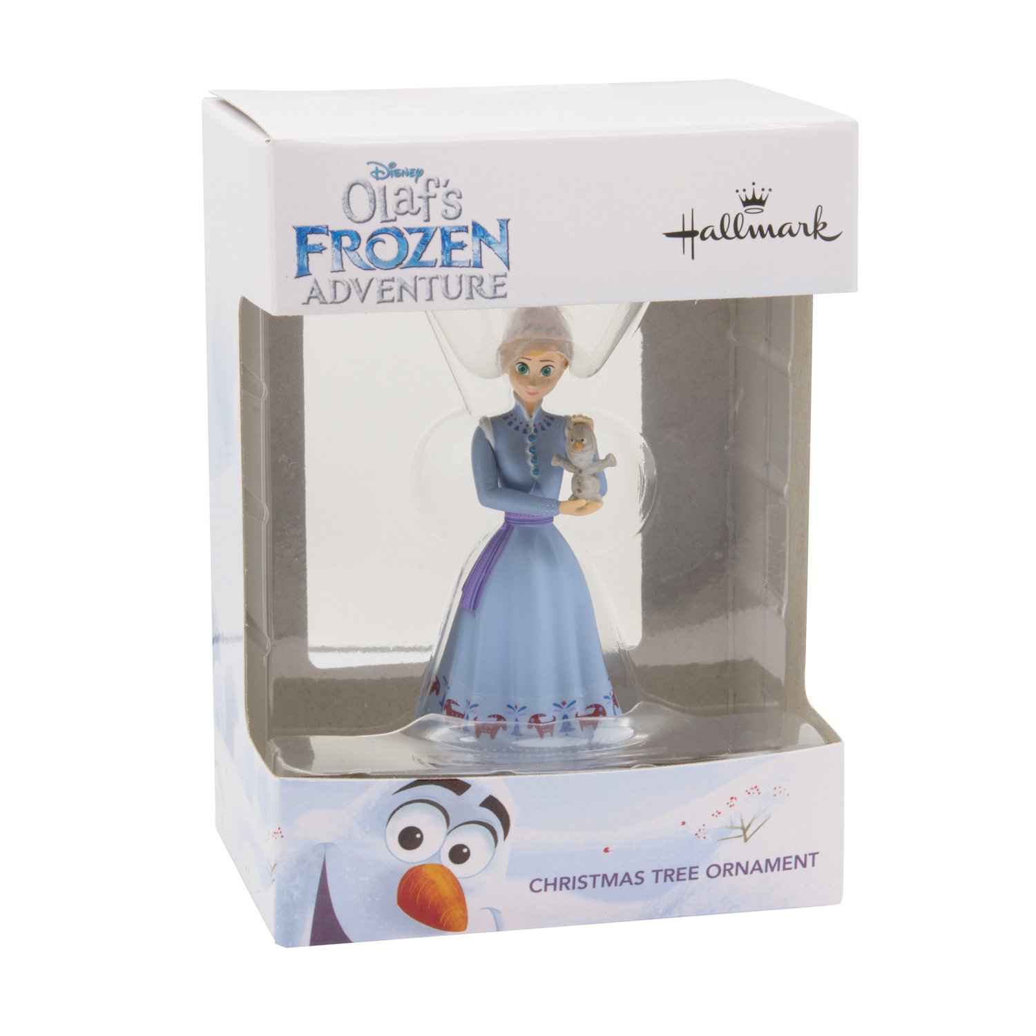 Amazon.com: Hallmark Disney Olafs Frozen Adventure Anna With Olaf ...