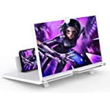 """14"""" Screen Magnifier for Cell Phone -3D HD Magnifing Projector Screen Enlarger for Movies, Videos and Gaming – Foldable Phone"""