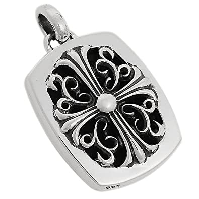 Amazon chrome hearts chrome chrome hearts chrome hearts pendant keeper mozeypictures Images