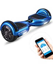 "Bluewheel HX310s 6.5"" Hoverboard Self Balance Scooter - Kinder Sicherheitsmodus mit App – Bluetooth Lautsprecher – Starker Dual Motor – LED - Elektro Self-Balance Board E-Skateboard"