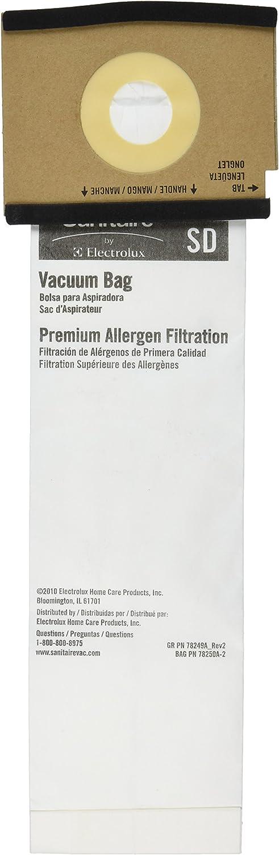 Eureka 63262B-10 Paper Bag, Style Sd Premium Allergen 5 Pk