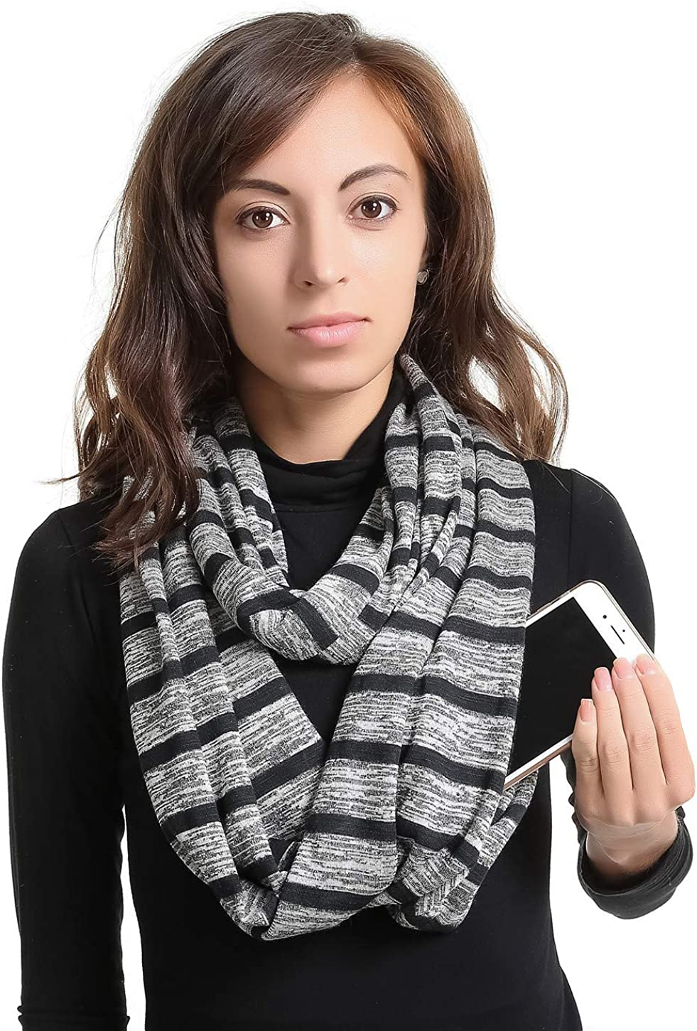 Infinity Scarf With 2...
