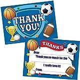 amazon com sports birthday party invitations football basketball