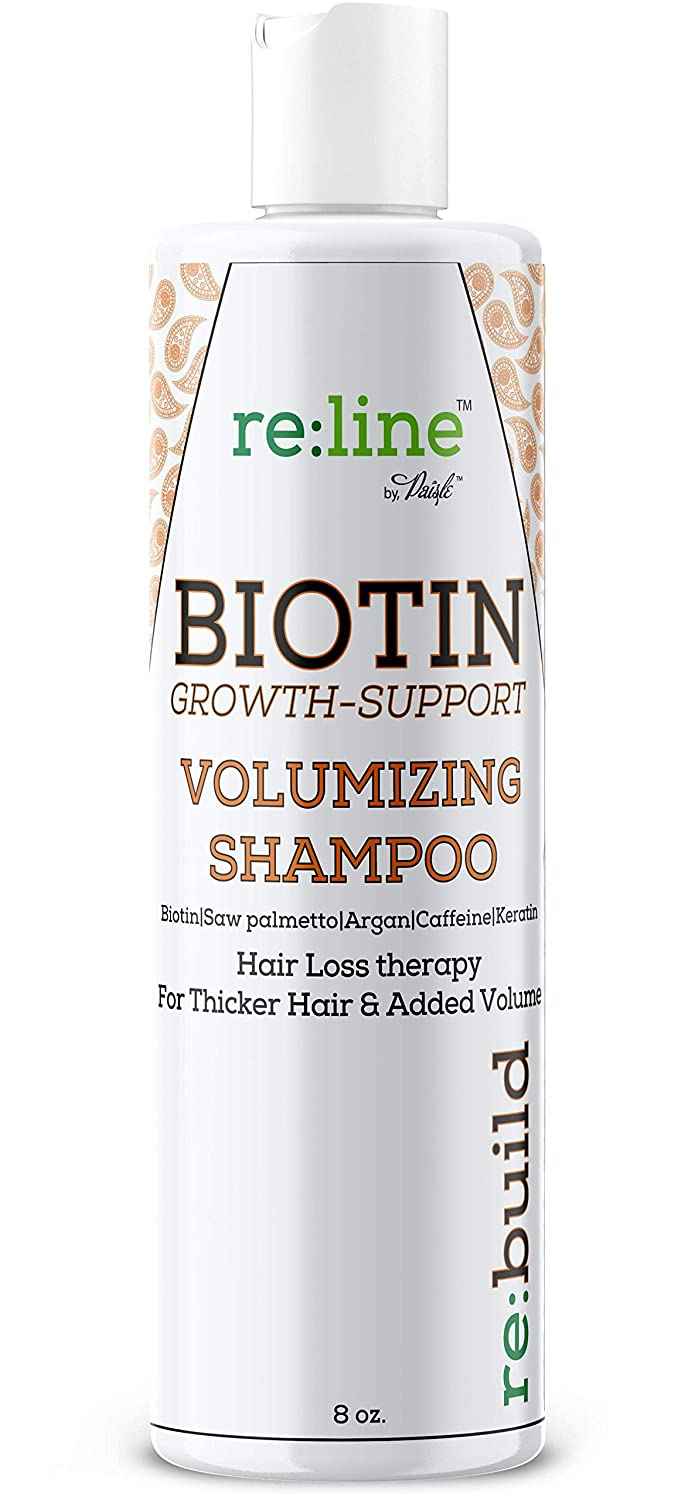 Volumizing Biotin Hair Loss Shampoo Volume Shampoo for Hair Growth All Natural Thickening for Thinning Hair Loss Treatment Sulfate Free for Color Treated Hair for Women & for Men