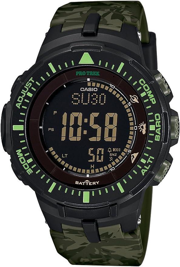 [カシオ]CASIO 腕時計 PROTREK トリプルセンサーVer.3搭載 ソーラーモデル PRG-300CM-3 メンズ [並行輸入品]