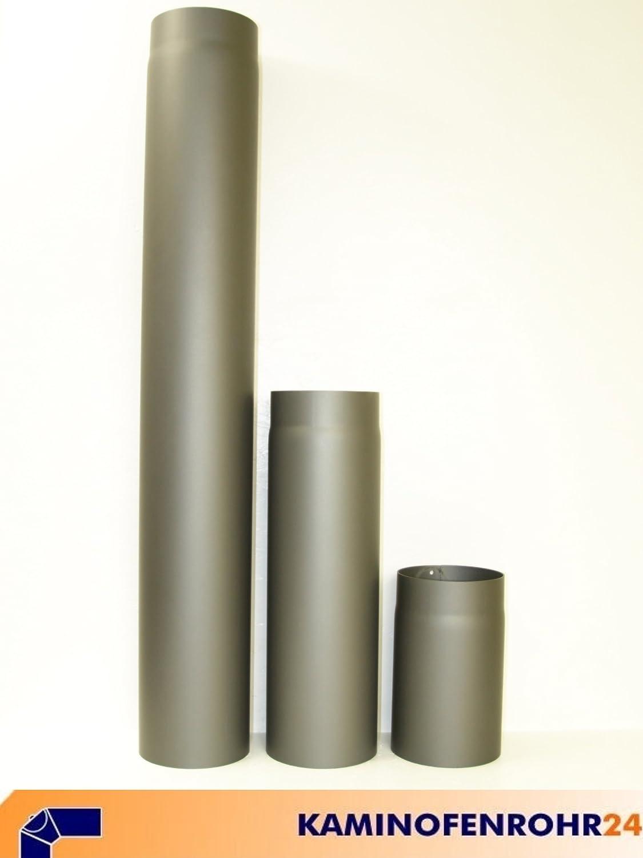 Ofenrohr Wandrosette Rosette /Ø 150mm grau gussgrau Randst/ärke 50 mm