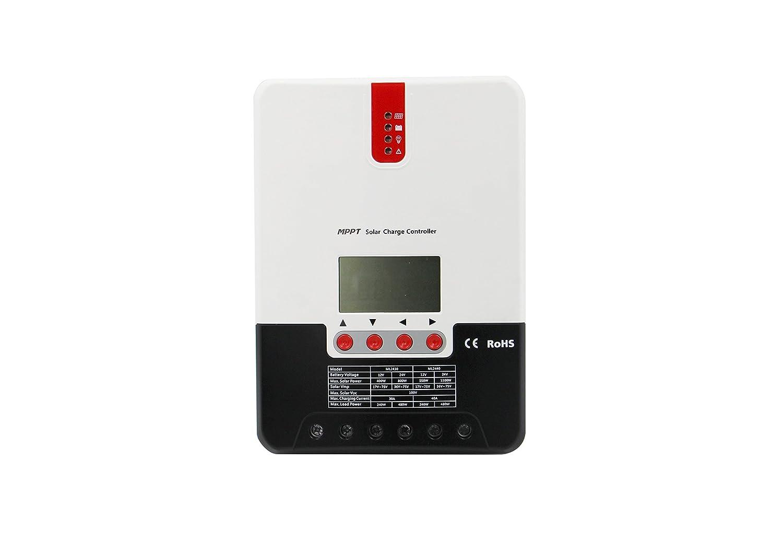 SRNE SR-ML2440 40 Amp MPPT 12V 24V Solar Charge Controller /& External Display Monitor