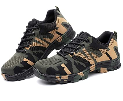 5cc562f33b6 Hiking Boots Steel Toe, Anti Smashing Composite Toe Cap Lightweight ...