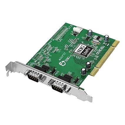 SIIG CyberSerial Dual PCIe-DB Drivers for Mac