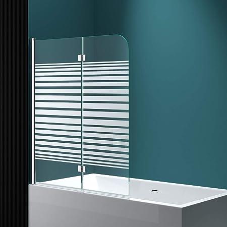 Bañera de ducha pared c1408sl 117 x 141 cm en vidrio satinado ...