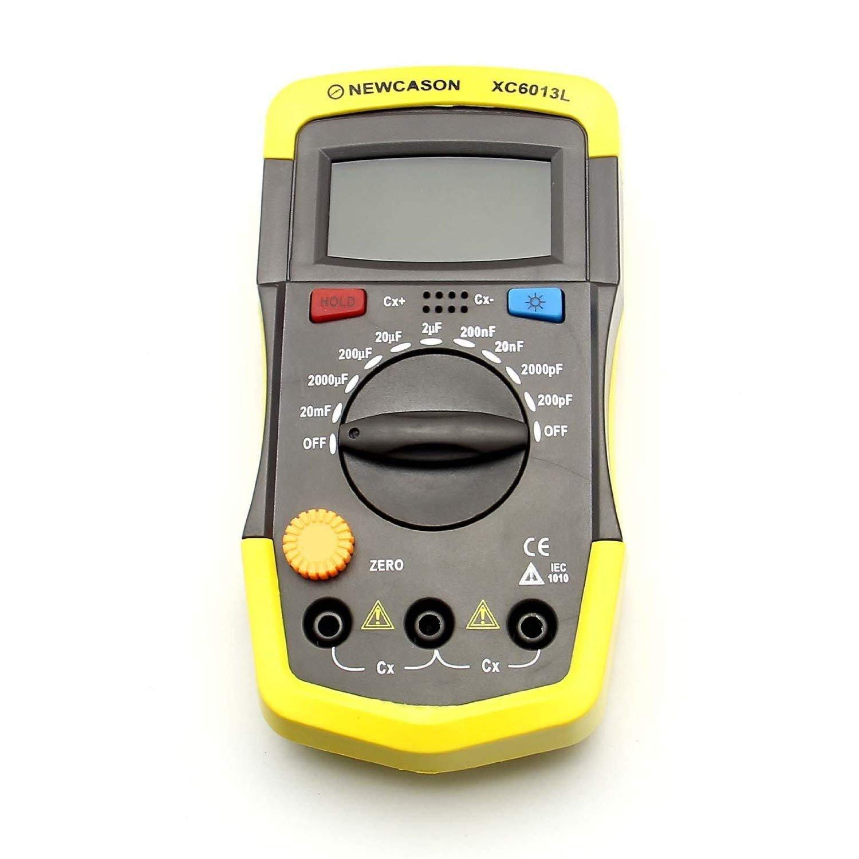 Amazon.com: LCD Digital Meter XC6013L Capacitance Capacitor Tester ...