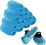 Disposable Shoe Covers - 100 Pack (50 Pairs) Boot Covers Nonslip