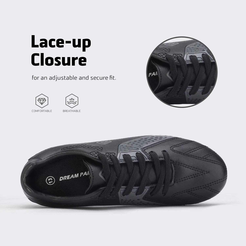 DREAM PAIRS Gar/çons Filles HZ19006K Football Football Crampons Chaussures