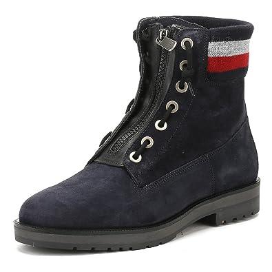 Tommy Hilfiger West 9B1 Bleu marine - Chaussures Boot Femme