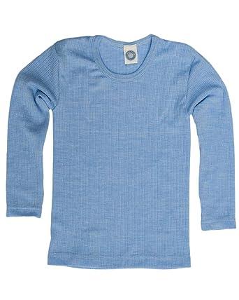 71cd49c6081e7 Cosilana, Kinder Unterhemd langarm, 45% kbA Baumwolle, 35% kbT Wolle ...