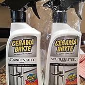 Amazon.com: CERAMA BRYTE esmalte de limpieza de acero ...