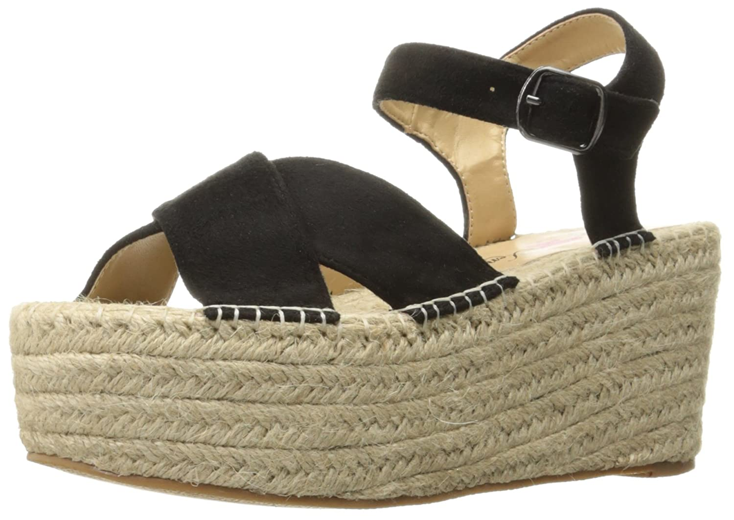 Penny Loves Kenny Women's Friend Platform Sandal B01MYZG4UQ 9.5 B(M) US|Black
