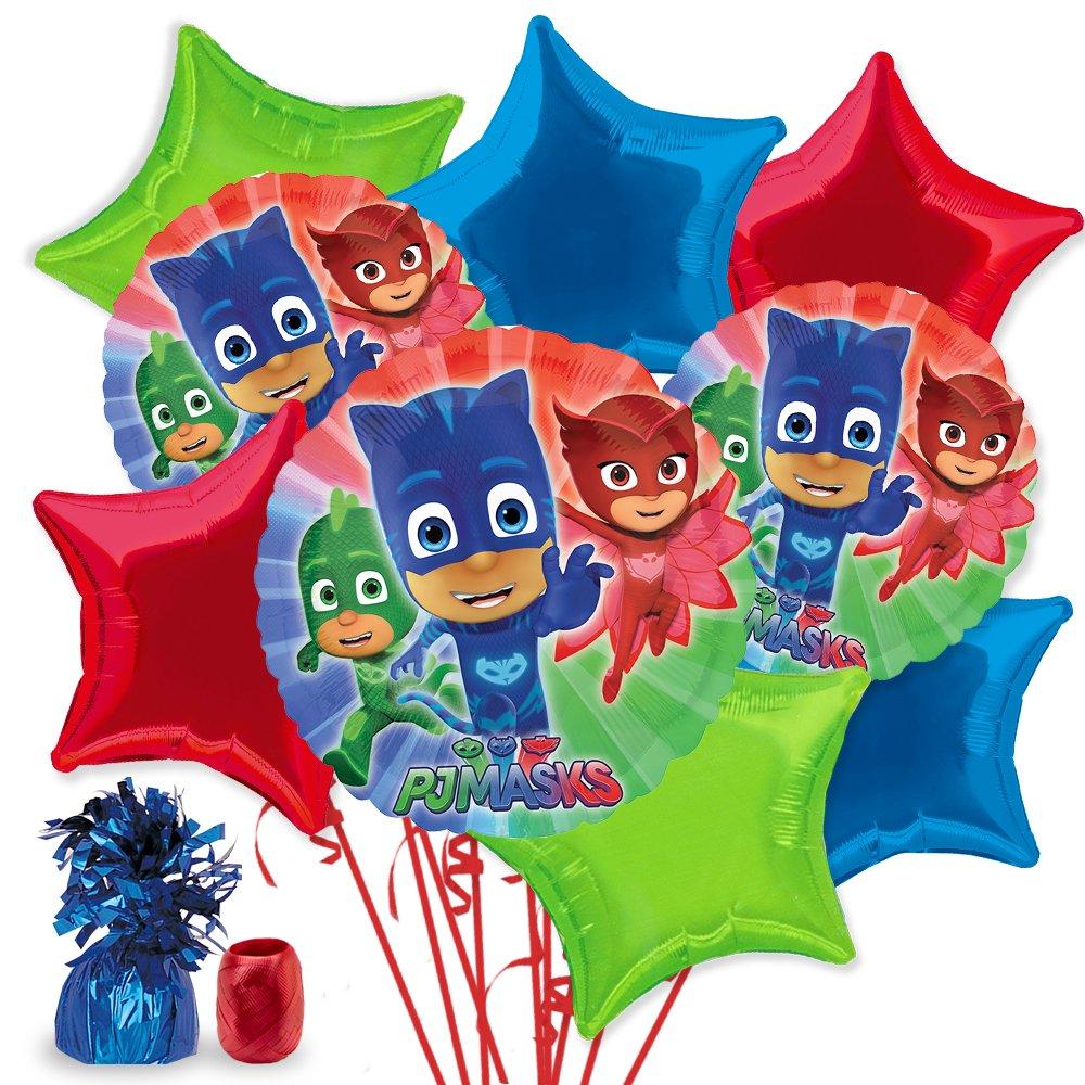 PJ Masks Deluxe Star Balloon Bouquet Kit   B06XFC2SM9