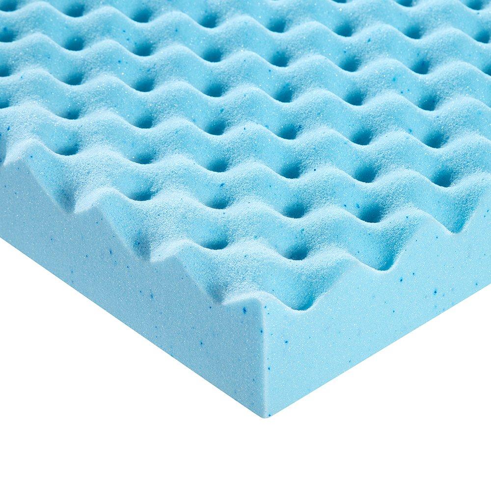 Olee Sleep 1.5 Inch I Gel Memory Foam Air Flow Topper Full