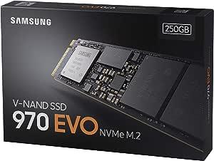 HD SSD SAMSUNG 250GB 970 EVO Plus M.2 PCI Express 3.0 V-NAND MLC ...