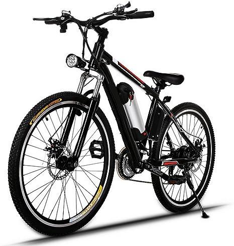 AMDirect Bicicleta de Montaña Eléctrica de 26 Pulgadas E-Bike ...