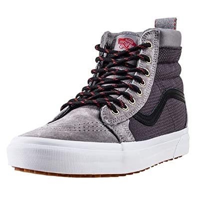 939816a0c24080 Vans Sk8 Hi MTE Mens Trainers Grey - 8 UK  Amazon.co.uk  Shoes   Bags