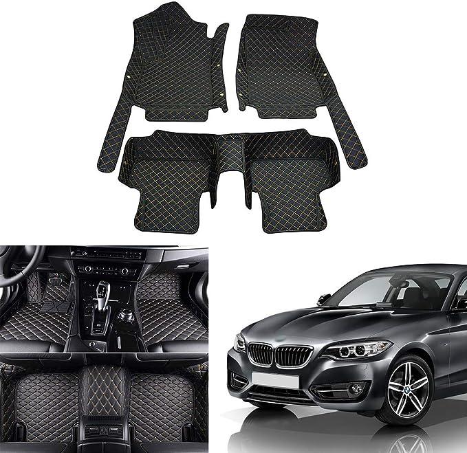 Premium Fußmatten Set für BMW 2er F45 ab 2014 Active Tourer Matten Autoteppiche