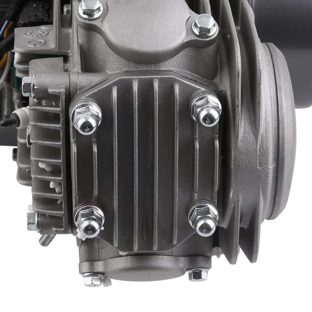 125cc Engine 4 Stroke Motor, CATUO Premium Dirt Pit Bike Motorcycle Engine  Motor Starter Carb Complete Kit for Honda XR50 CRF50 QR50 XR70 CRF70