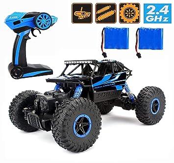 CR 2.4Ghz 1 18 RC Rock Crawler Vehicle Buggy Car 4 WD Shaft Drive ... d830e838a6