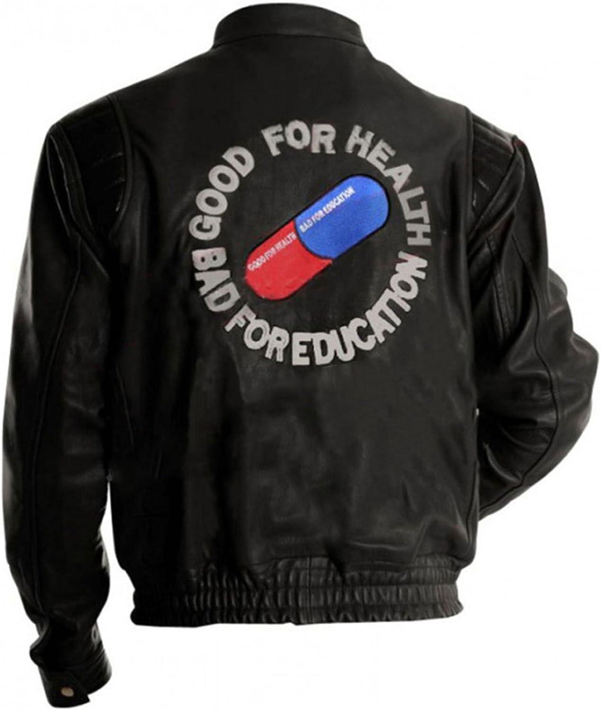 Amazon Com Mens Akira Jacket Costume Capsule Shotaro Kaneda Pill Red Black Biker Bomber Pu Leather Jacket Clothing