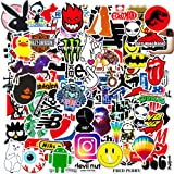 100PCS Fashion Brand Stickers for Laptop,Mackbook,Funny Cool Aesthetic Hypebeast Stickers Decals Pack for Car,Motorcycle…