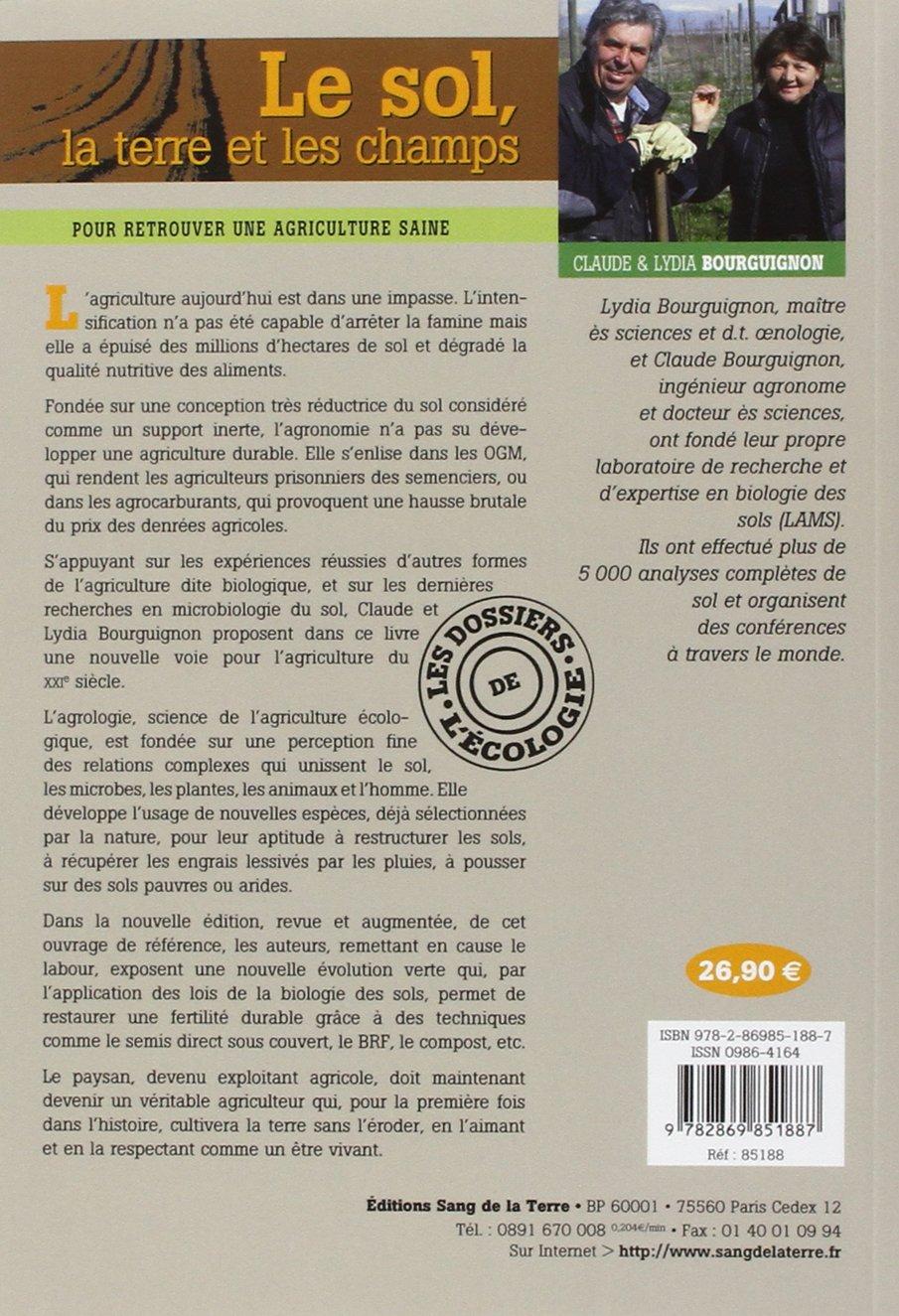 le sol, la terre et les champs: 8: Amazon.com: Books