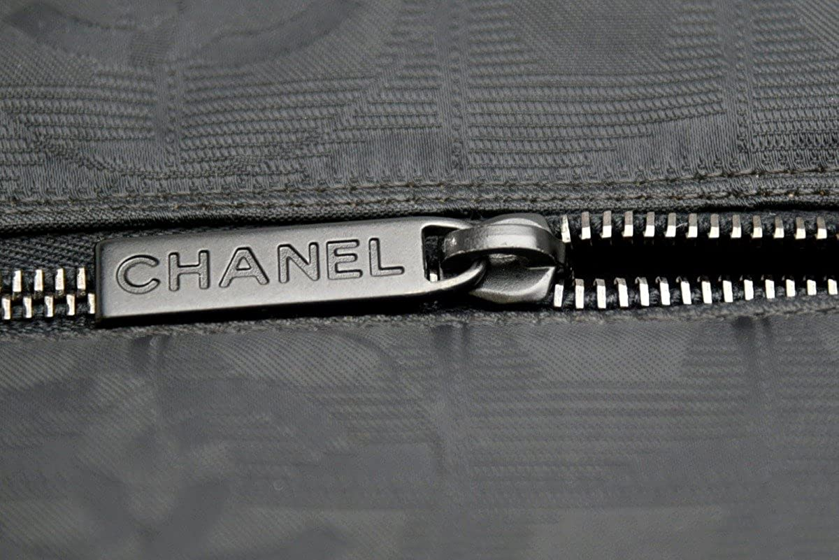 7b9412fee85f Amazon | [シャネル] CHANEL ニュートラベルライン ボストンバッグ ハンドバッグ ブラック ナイロン 靴入れ ゴルフ ジム 旅行  A15960 [中古] | ボストンバッグ