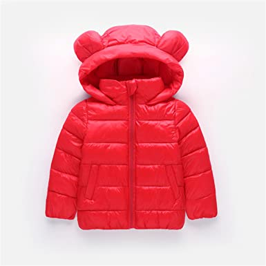 f315e4518 Amazon.com  NV-Fashion Girls Winter Jackets Boys Cartoon Style Girl ...