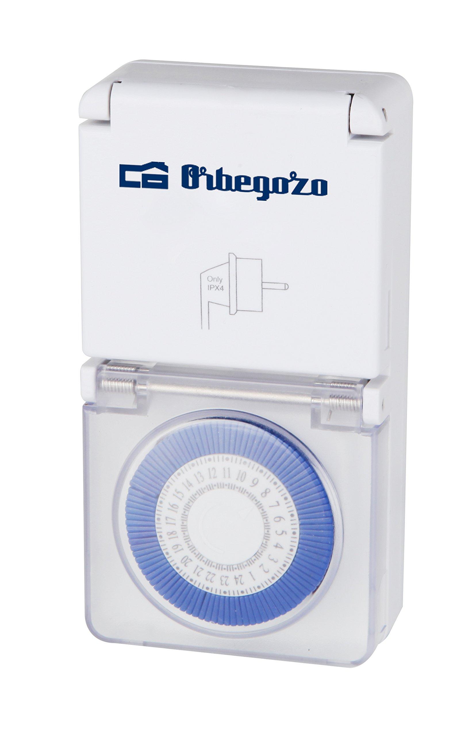 Orbegozo PG 10 – Programador eléctrico Exterior 24 Horas product image