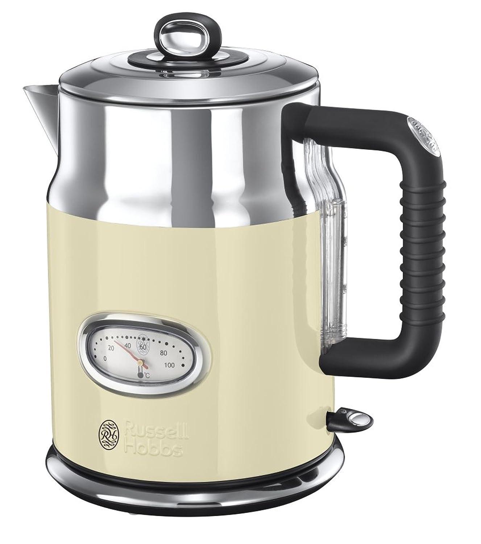 Amazon.de: Russell Hobbs 21672-70 Wasserkocher Retro Vintage Cream ...