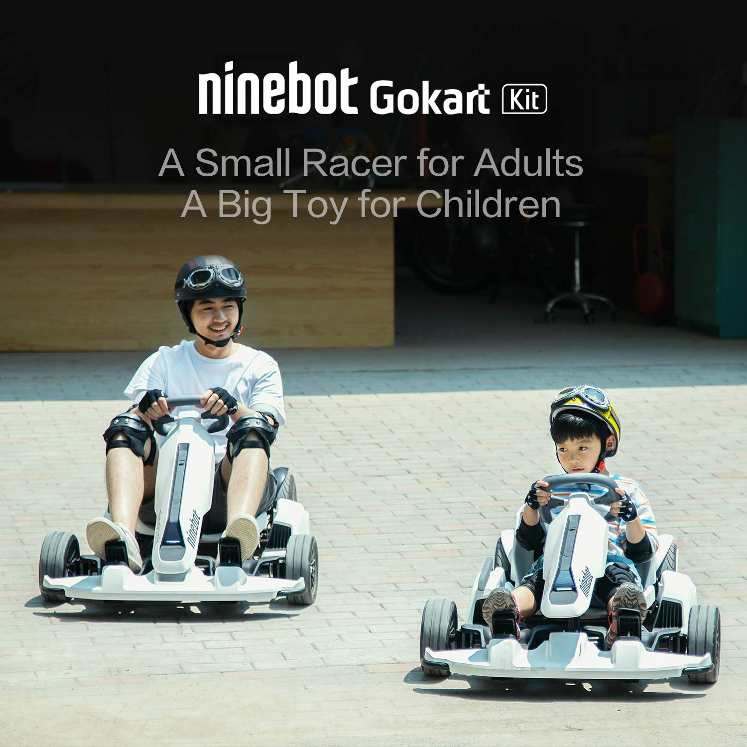 Amazon com : Segway Ninebot S (Black) and GoKart Drift Kit Bundle