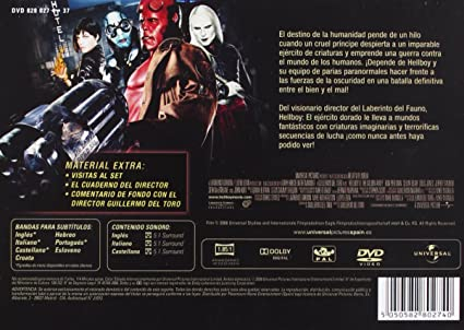 Hellboy 2 (Ed. Horizontal) [DVD]: Amazon.es: Ron Perlman ...