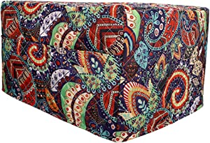"Smart Oven Cover, ConvectionToaster Oven Cover, Large Size Square Kitchen Appliance Cover, 16.9""Lx16.1""Wx10.6""H, Diamond Collection Kitchen Appliance Case With Two Big Pockets,Provide Yeal Around Protection For Your Appliance (Mandala Color)"