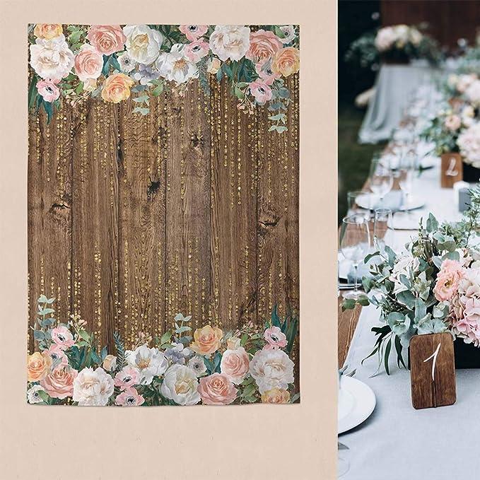 7x7FT Vinyl Backdrop Photographer,Feather,Boho Fashion Theme Background for Baby Birthday Party Wedding Graduation Home Decoration