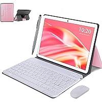 Tablet WiFi 4G 10.1 Pulgadas, 2 in 1 Tablet con Teclado 4GB RAM+ 64GB ROM /128GB Escalables , Android 10 Tablet PC Quad…